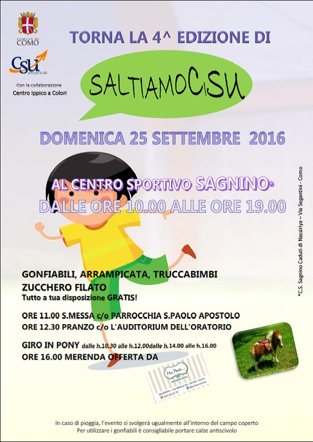 SaltiamoCiSU 25.09.2016
