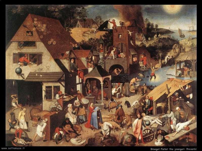 Bruegel Pieter The Younger 748 Proverbs1